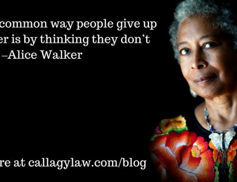 Alice Walker Callagy Law