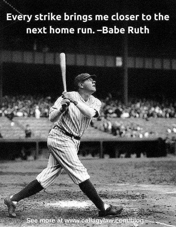 Babe Ruth Callagy Law