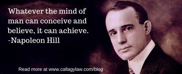 Callagy Law Napoleon Hill