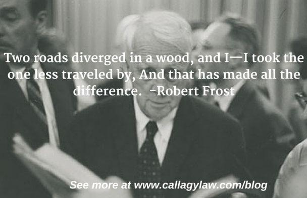Robert Frost Callagy Law