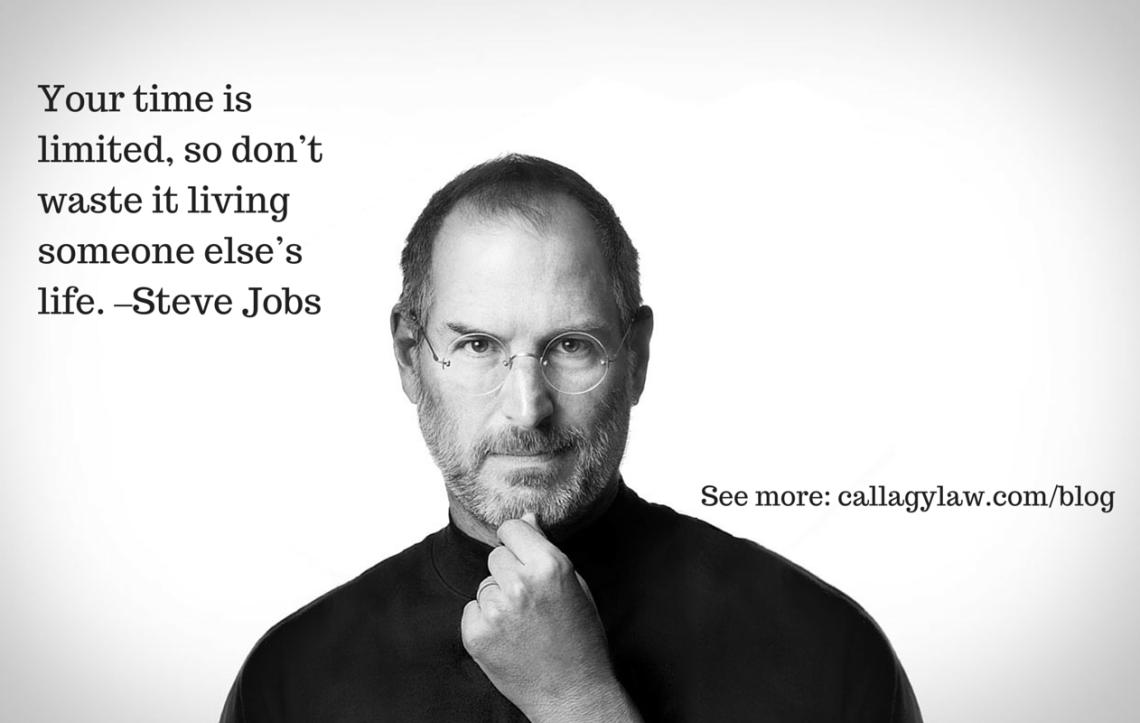 Steve Jobs Callagy Law