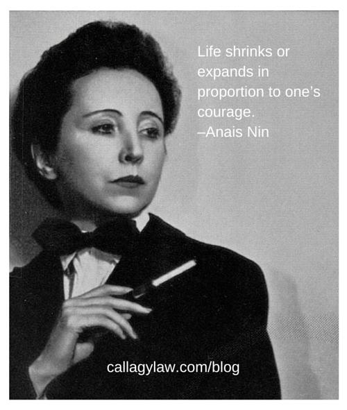 Anais Nin Callagy Law