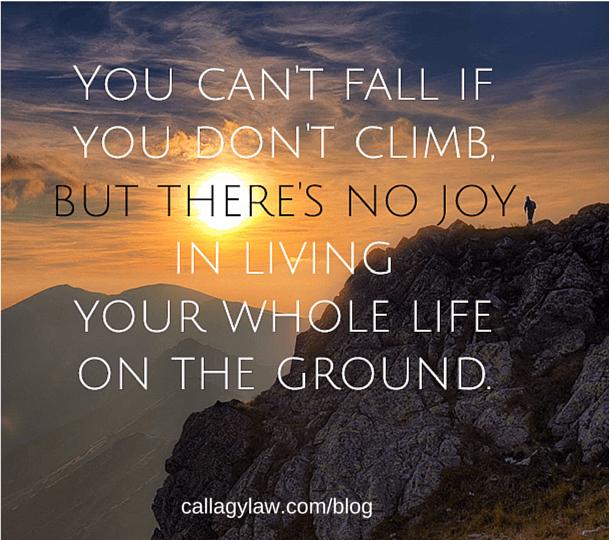 Fall Climb Callagy Law