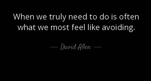 David Allen Callagy Law Quote of the Day