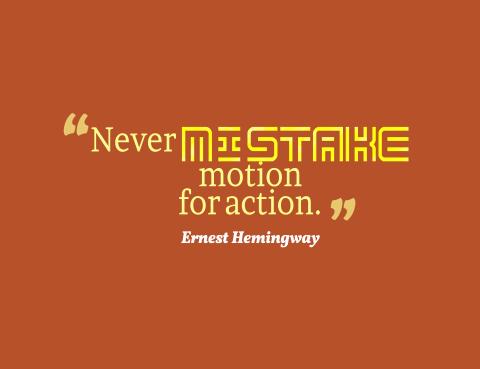 Ernest Hemingway Callagy Law Quote