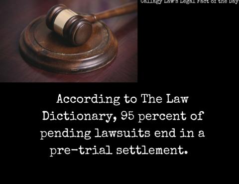 Pre Trial Callagy Law