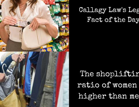 Shoplifting Callagy Law Legal Fact