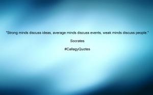 #CallagyQuotes